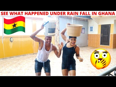 SHOCKING, WHAT HAPPENED TO US UNDER HEAVY RAIN-FALL IN GHANA