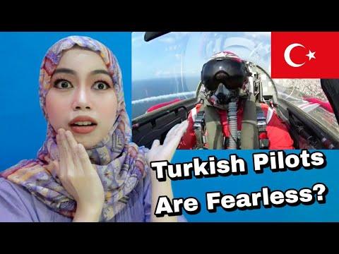 Indonesian Reaction Turkish Pilots - Fearless
