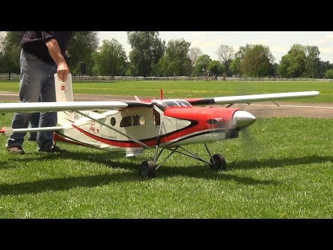 RC Airplanes Pilatus Porter PC-6 Turbo and a PC-7 MKII both with Turbine Engine