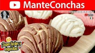 MANTECONCHAS RECETA COMPROBADA 👌   Vicky Receta Facil