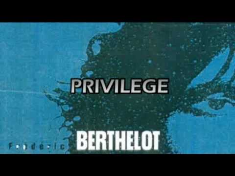 Privilege - Frédéric Berthelot