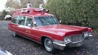 1970 Cadillac Superior high top ambulance