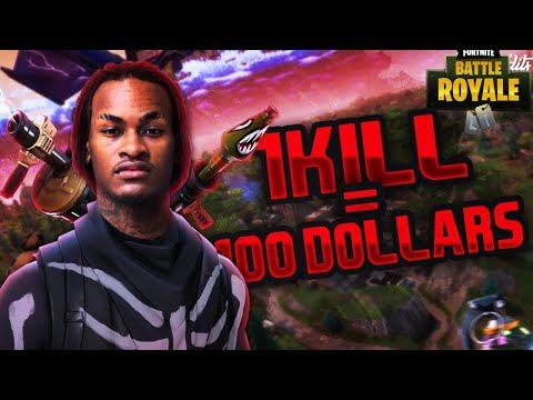Download Youtube: 1 KILL = $100 FOR MY LITTLE BROTHER Pt2 (Fortnite Battle Royal)