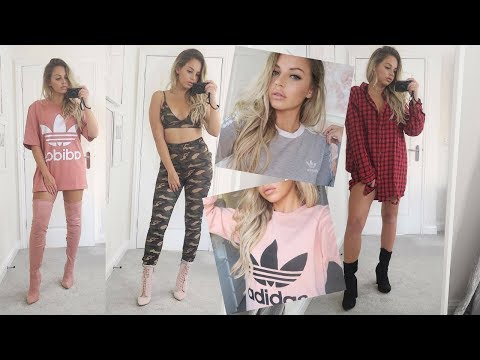 HUGE AUTUMN/WINTER TRY ON HAUL | ASOS | ADIDAS ORIGINALS | Lucy Jessica Carter
