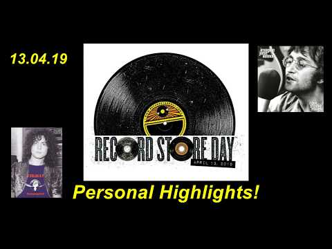 Record Store Day 2019 - Personal Highlights