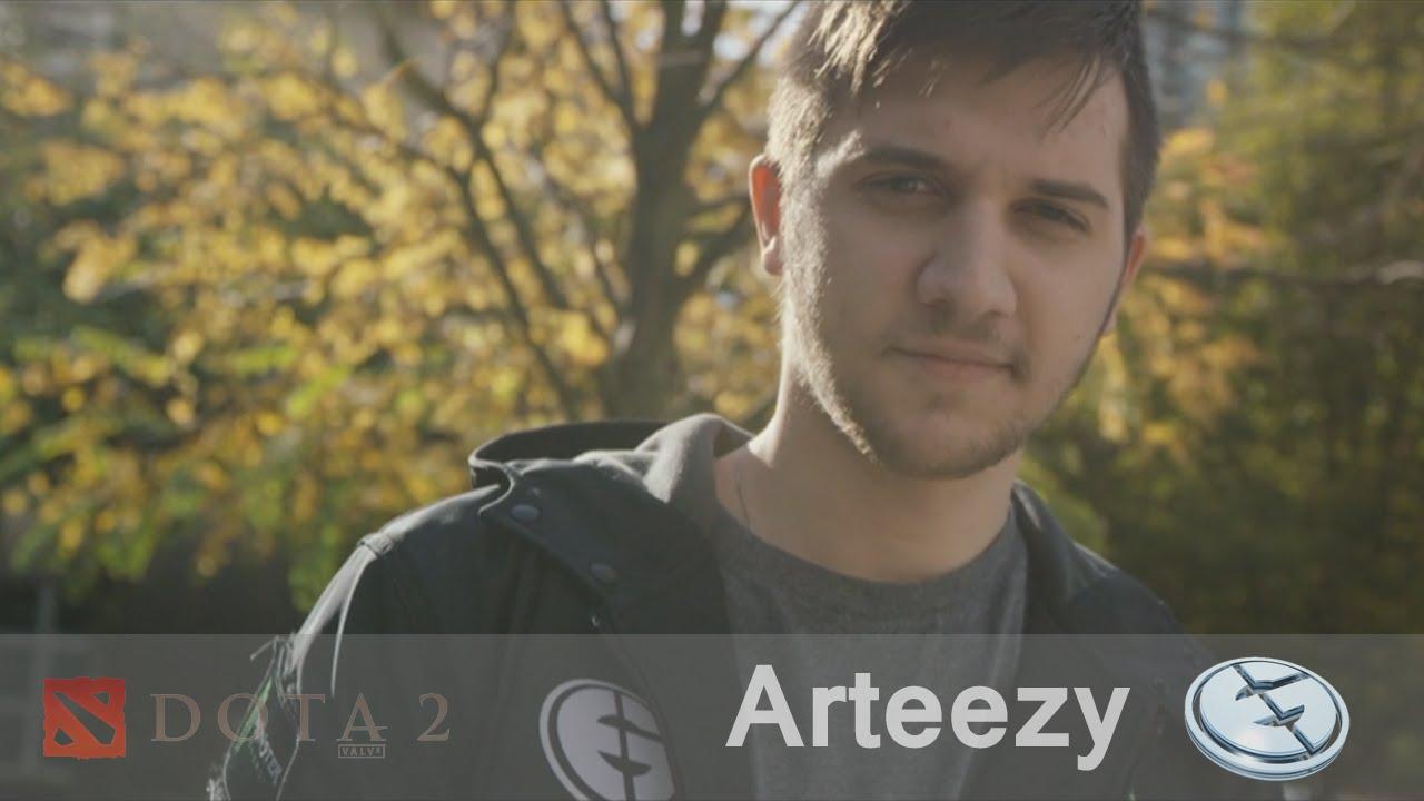 Dota 2 Player Profile Arteezy EG YouTube