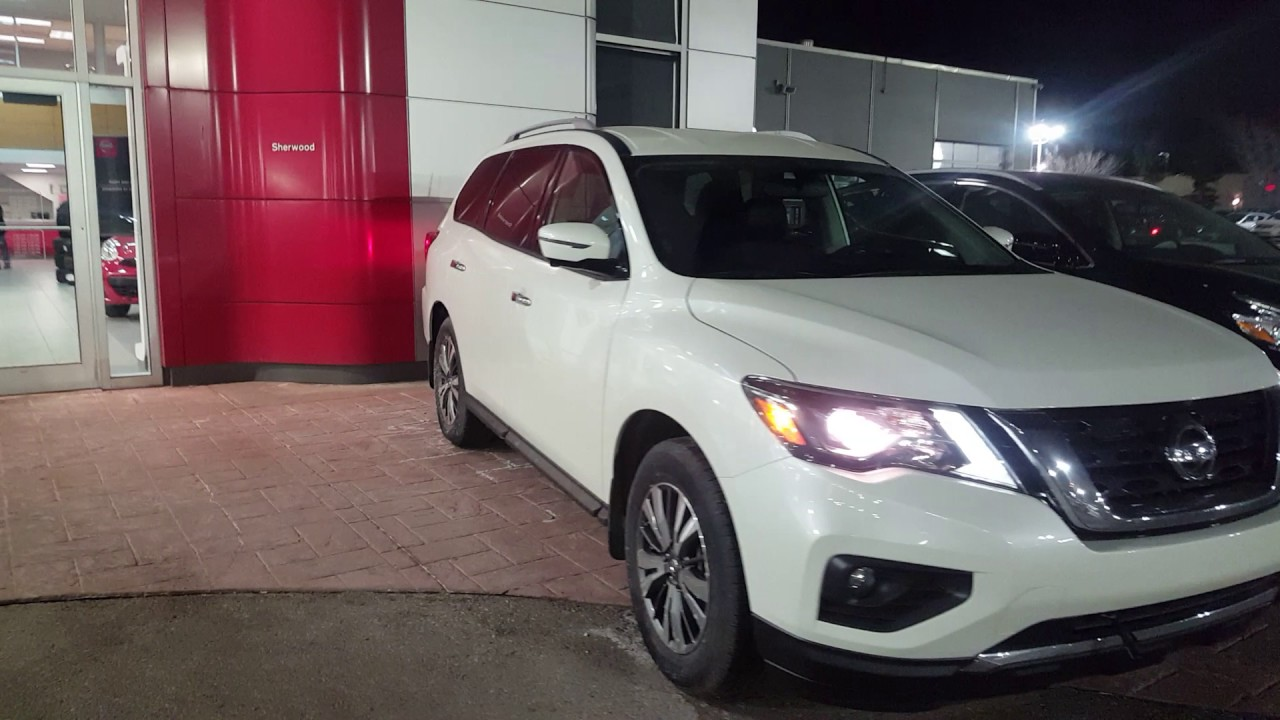 2017 Nissan Pathfinder Sl Awd Pearl White Sherwood