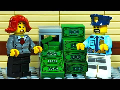 Lego City Police Station Prison Break