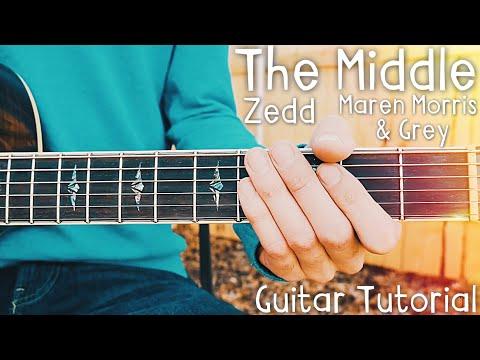The Middle Zedd Maren Morris Grey Guitar Tutorial // The Middle Guitar // Lesson #401