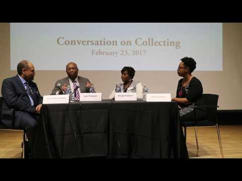 Conversation on Collecting, February 2017