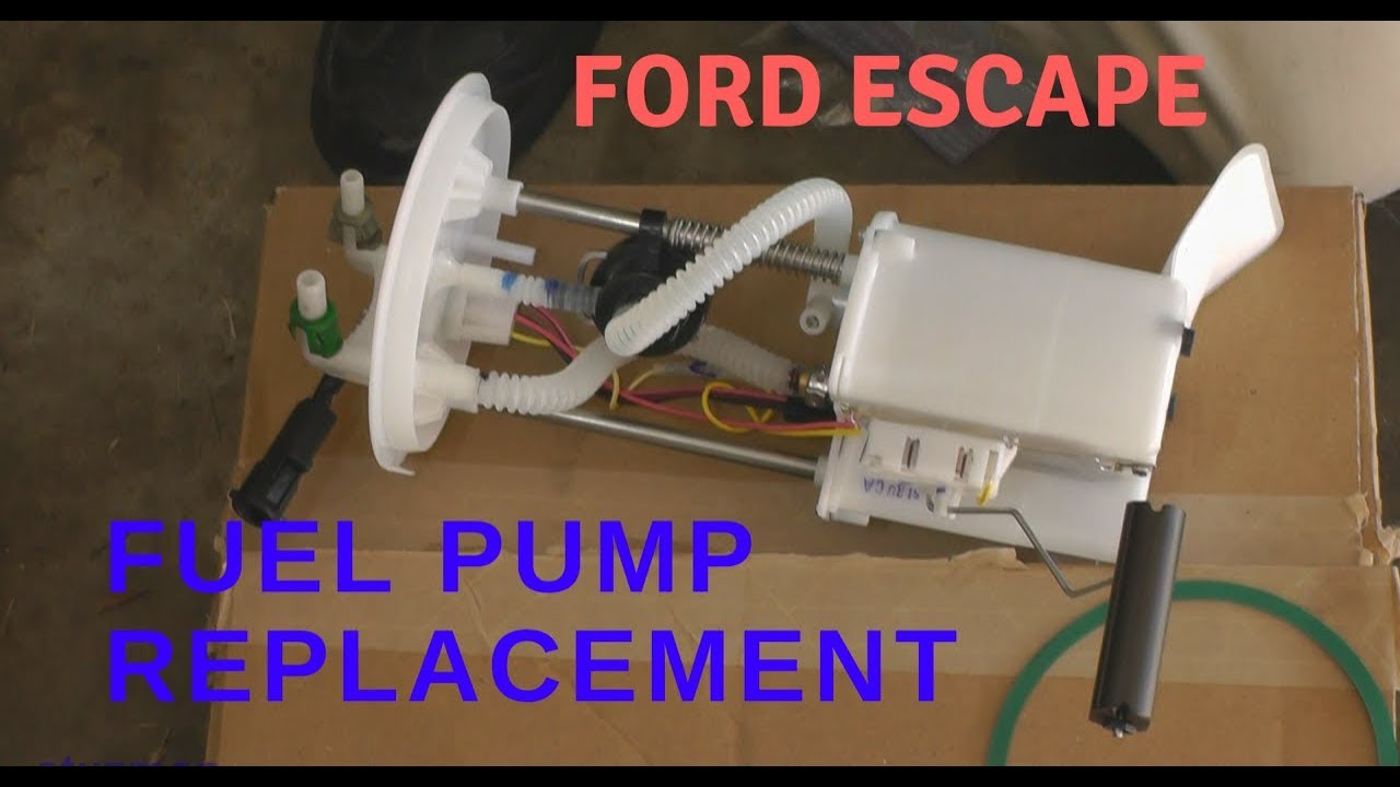 hight resolution of ford escape fuel pump replacement