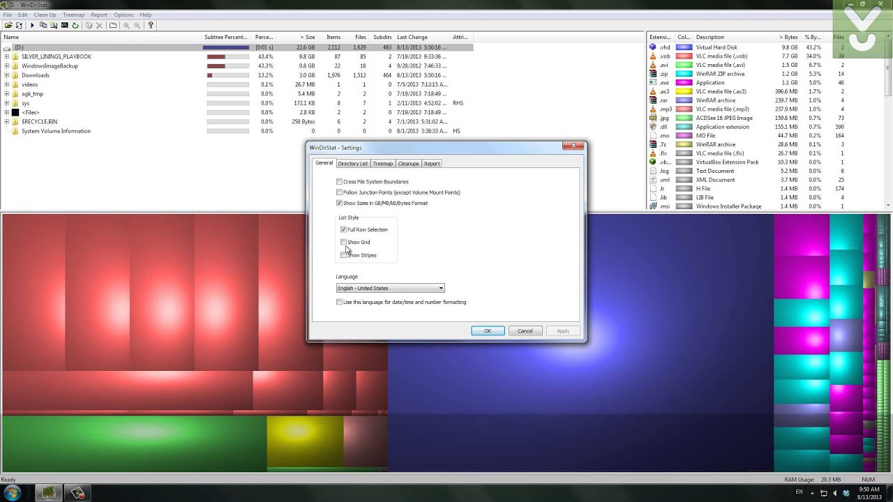 Hard Drive Space Analyzer for Windows, Linux, and Mac OS