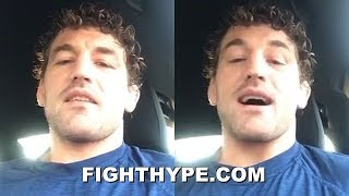 """UFC STAR ASKREN DISSES BOXERS' SKILLS; QUESTIONS """"ARE BOXERS GOOD AT BOXING"""" AFTER MALIGNAGGI LOSS"""