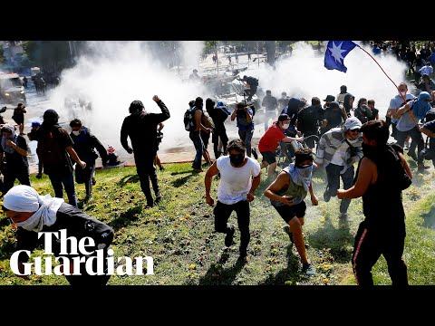 Chile protests rage despite president's retreat over subway fare rise