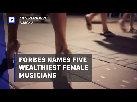 Madonna heads Forbes list of Five Wealthiest Female Musicians