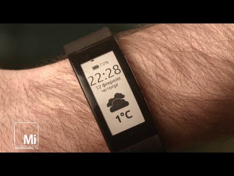 Фитнес трекер Sony SmartBand Talk. И попрыгать и поболтать.