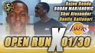 Rajon Rondo - NBA Open Run