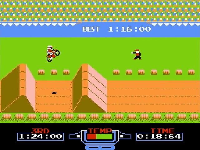 Jouez à Excitebike sur Nintendo NES