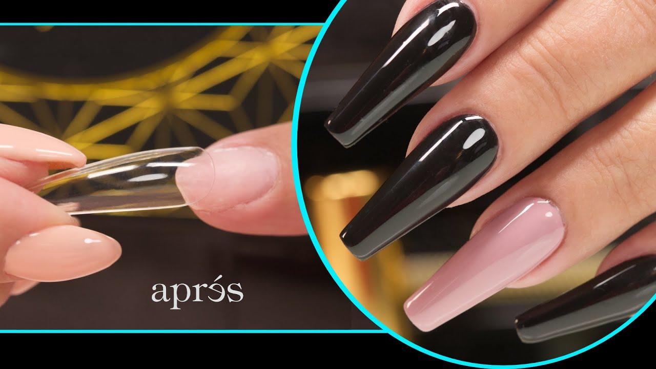 Suzie tries the Aprés Gel-X Nail System - YouTube