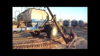 Glenvar Seeding 2008 - Australia wheat farm Cat Challenger