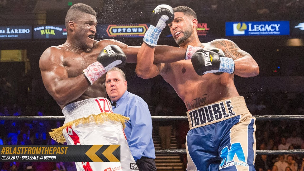 Blast From The Past Dominic Breazeale Stops Izu Ugonoh In Knockout
