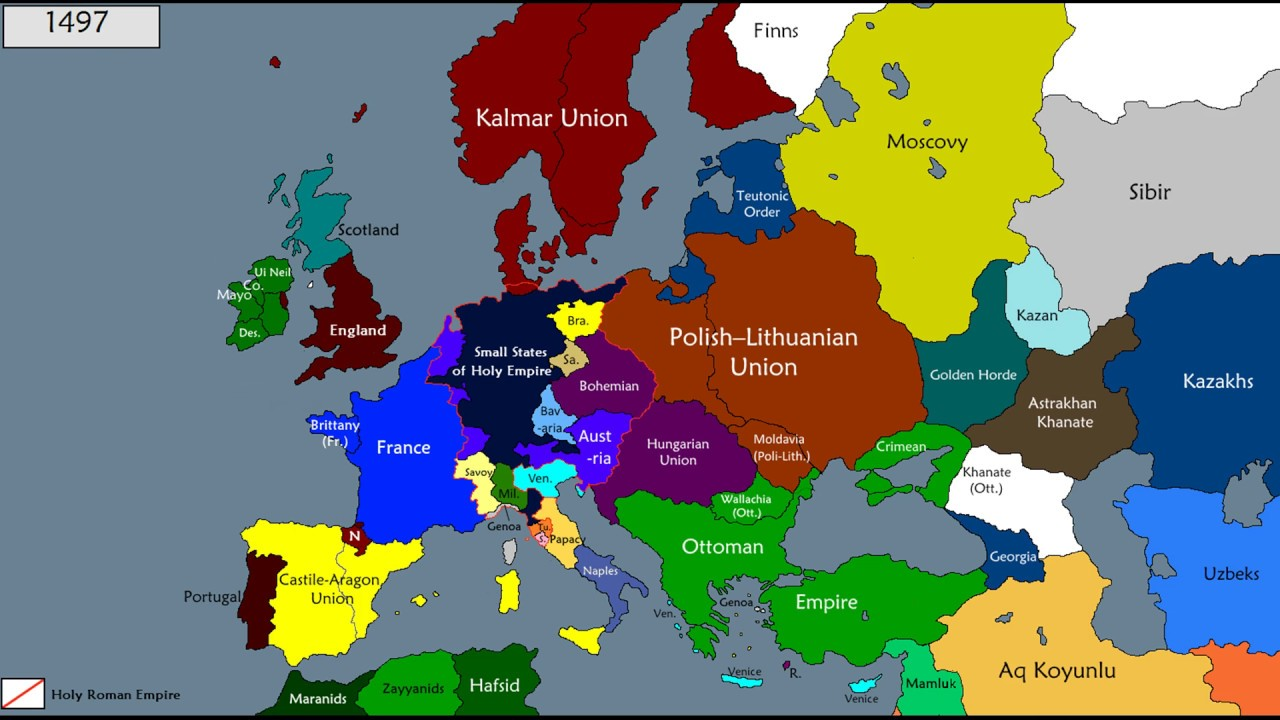 History Of Europe 1200 1600 Youtube