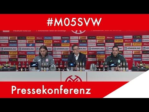 Pressekonferenz nach Bremen | #M05SVW | 05er.tv | 1. FSV Mainz 05