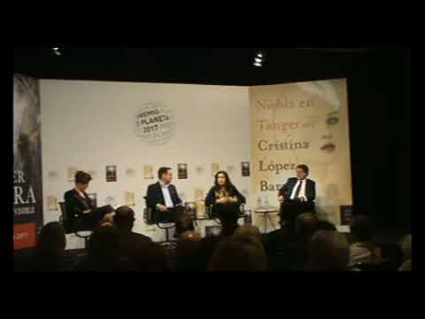 Presentación del Premio Planeta 2017, en el Instituto Cervantes
