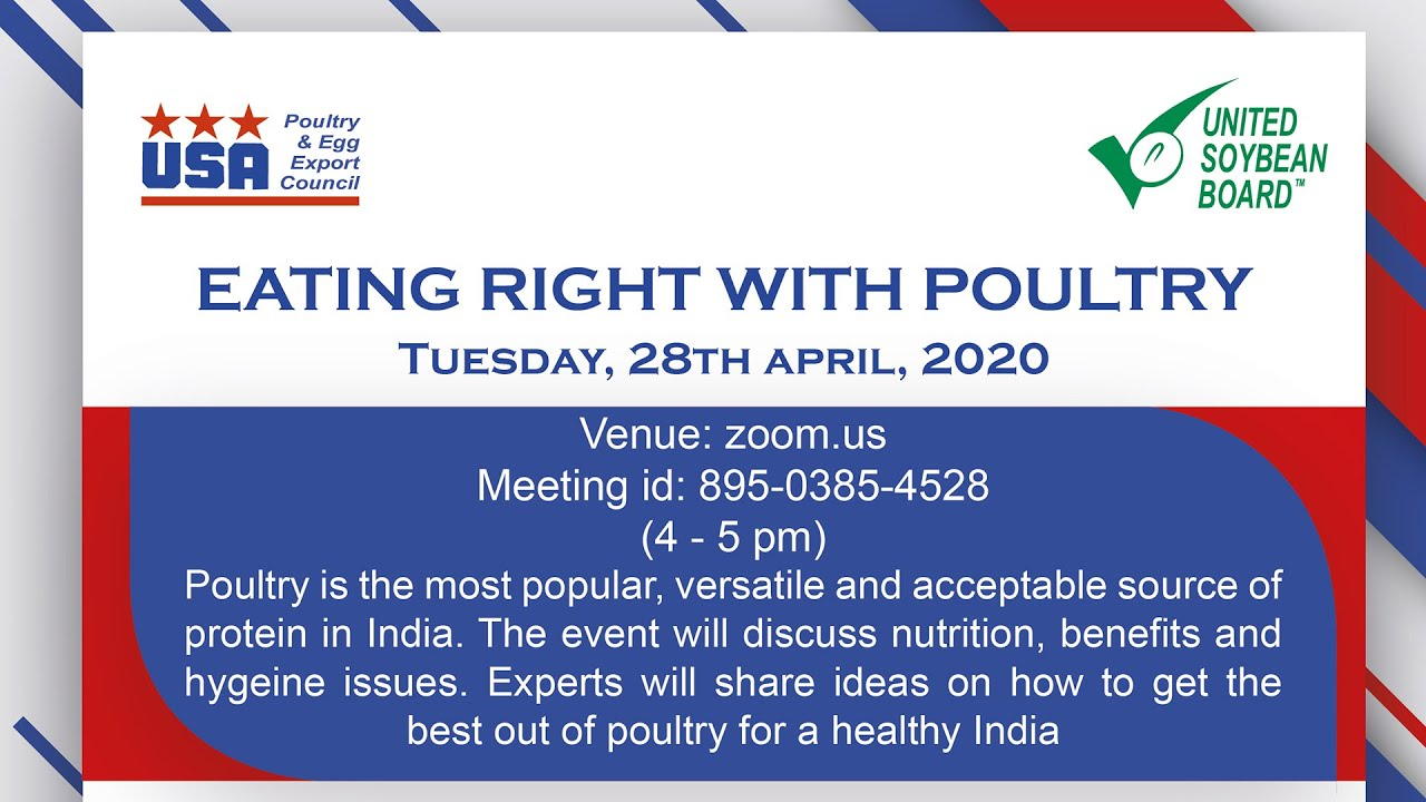 Eating Right with PoultryI Nutrition Webinar