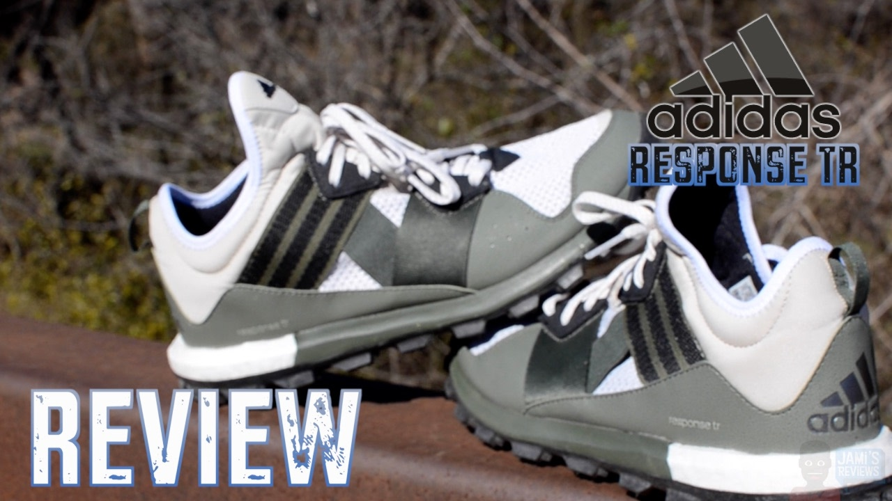 ADIDAS RESPONSE TR REVIEW - YouTube d83c1c6f2