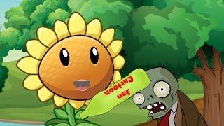 Plants Vs Zombies Adventures: Funny journey #1   Jan Cartoon