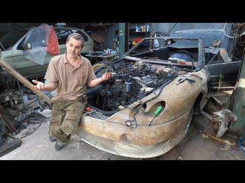 Советский спорткар Лаура 2. Запустим ли мы двигатель, которому 20 лет?