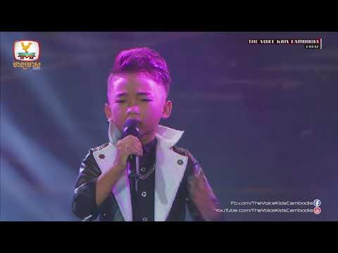 Long Likoing - Bong Pi Mun Jkuot Bat Heuy (Live Show  Final | The Voice Kids Cambodia 2017)