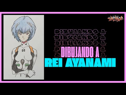 Cómo dibujar a Rei Ayanami PASO A PASO / How to draw Rei Ayanami STEP BY STEP | Ivantastico