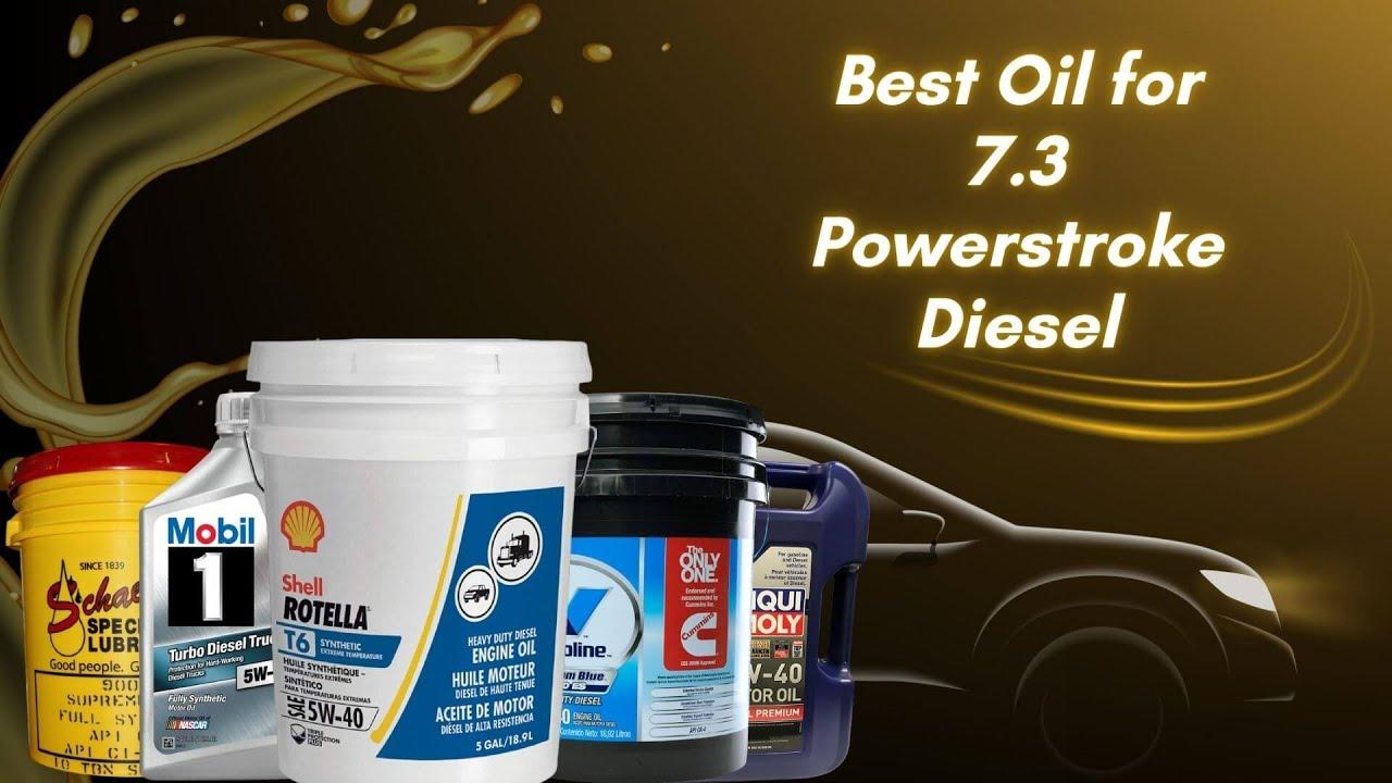 Best Oil For 7 3 Powerstroke Diesel Top 5 Oil For 2020 Youtube