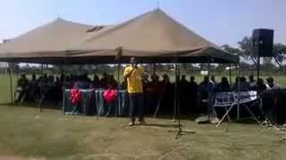 solidarity speech zinasu president great zimbabwe university at mucheke stdium