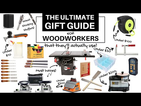 Ultimate Gift Guide For Woodworkers—Gift Guide 2020