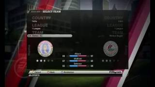 fifa 11 new patch  2013 with i league