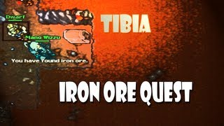 Iron Ore Quest (KKK) - Tibia Quests #10 [LOOT IRON ORE]