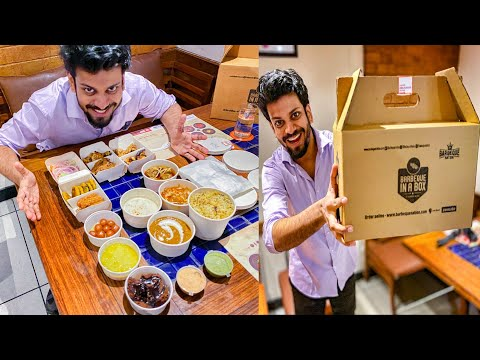 Barbeque Nation FINALLY Launched Home Delivery For BUFFET Menu 🔥😍   TheLazyBong