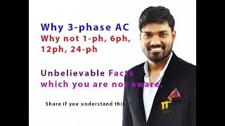 Why 3-Phase Why not 1-ph, 4ph, 6ph, 12ph Why 3-phase transmission | PiSquare Academy