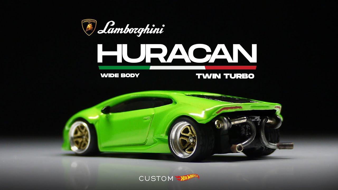 Lamborghini Huracan Twin Turbo Widebody Custom Hot Wheels