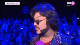 Филипп Киркоров сделал громкое заявление в сюжете программы Ru-новости на RuTv, 16.03.17