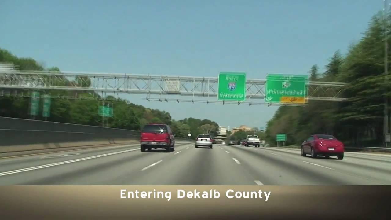 Atlanta, GA: I-85 North Mile 84-115