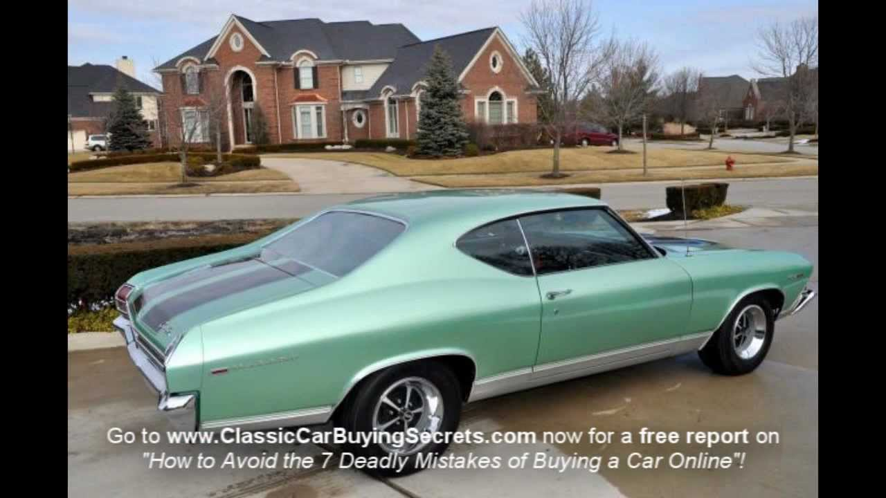 1969 Chevy Chevelle Big Block Classic Muscle Car for Sale in MI ...