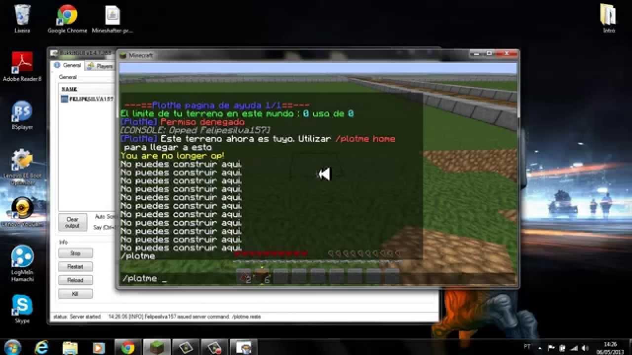 Minecraft Thermos Server
