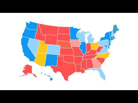 New CNN electoral map: Clinton's lead widens