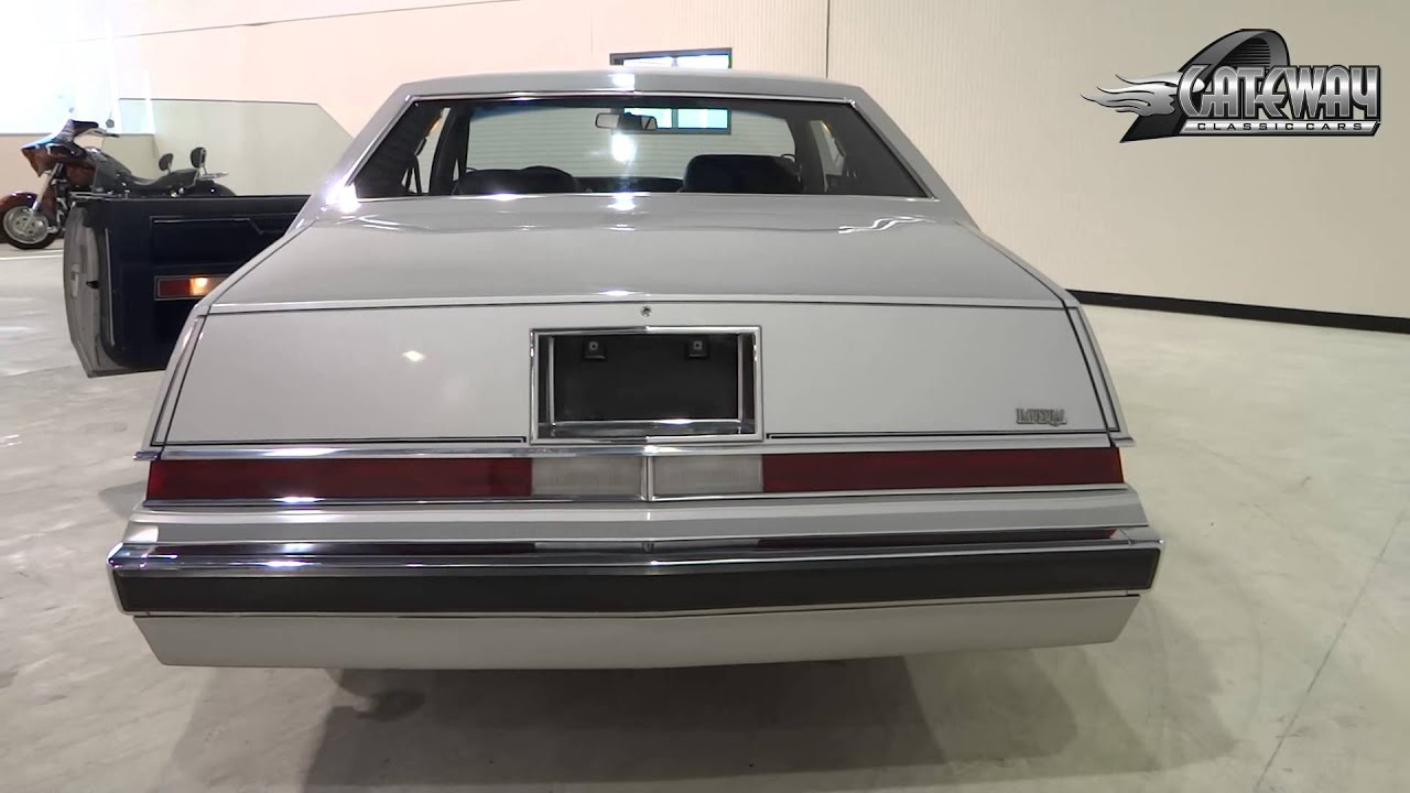 1981 Chrysler Imperial 0064 Ndy Gateway Classic Cars