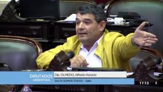 Diputado Olmedo Alfredo Horacio - Sesión 06-12-2016